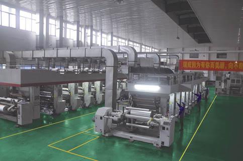 高速印刷機組